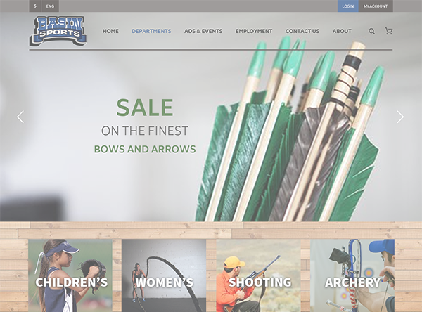 Basin Sports | Linked Retail Ecommerce Consulting Services