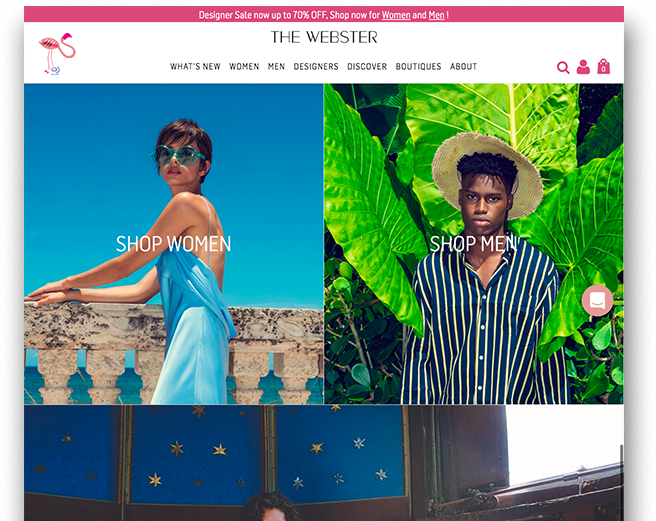 The Webster | Linked Retail Ecommerce Consulting Services